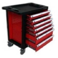 Ящик мобильный (тележка для инструмента) с набором инструментов 220пр.